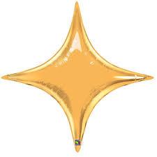 gold balloons starpoint gold qualatex foil balloon