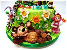 29 masha u0027orso torta images bear cakes