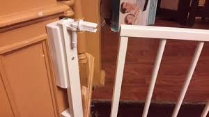 Baby Gate For Top Of Stairs With Banister And Wall Regalo Top Of Stairs Baby Gate 26