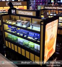 led display cabinet lighting led display case lighting how to light displays with leds