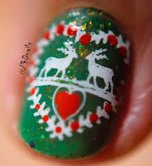 phd nails challenge your nail art ugly christmas sweater