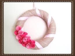 valentines day wreaths diy s day wreath easy tutorial burlap wreath