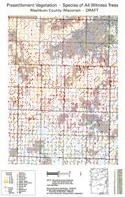 Map Of Wisconsin Counties Wisconsin Historic Landscape Project