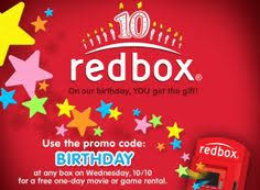 grab your free redbox dvd rental today only use the promo code