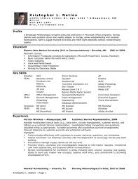 Resume Samples Kennel Manager by Sample Of Medical Assistant Resume Free Example And Cover Letter