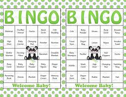 30 baby shower bingo cards printable party gender neutral
