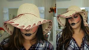 scarecrow halloween costume how to scarecrow easy halloween makeup tutorial collab makeup