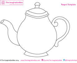 teapot template read write fairy tales pinterest