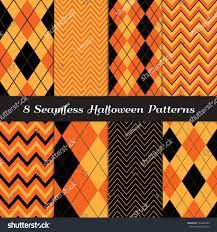 background pattern halloween halloween orange black brown argyle chevron stock vector 148426985
