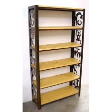 bookcase wood bookcases with sliding glass doors modern shaker 2