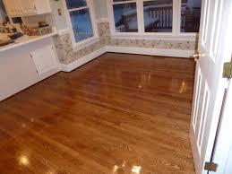 2 1 4 oak hardwood flooring stained golden oak and coated