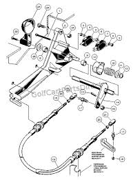 forward and reverse shifter assembly gasoline vehicle club car