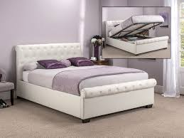 ottoman bed single storage ottoman beds single double king at mattressman