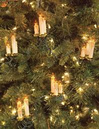 world candle garland tree candles