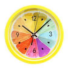 creative wall clock 5 best yellow wall clocks to say goodbye to summer
