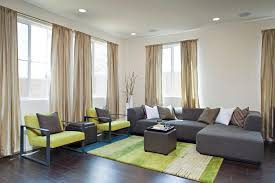 wonderful dark green ottoman living room contemporary with green