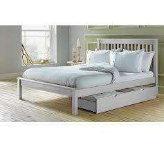 White King Size Bed Frame Buy Collection Aspley Kingsize Bed Frame White At Argos Co Uk