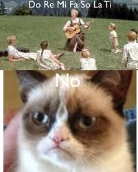 Create A Grumpy Cat Meme - i love making grumpy cat comics this one came to me in music