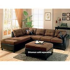 Sectional Sofas Brown Coaster Furniture 505655harlow L Sectional Sofa