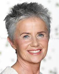 spiky short hairstyles for women over 50 short hairstyles over 50 short spiky hairstyle silver hair