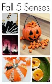 15 five senses activities for fall fun