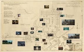 hogwarts blueprints minalima wizardcollection u2013 the harry potter