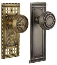 arts and crafts cabinet hardware brass door hardware