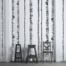 cool white birch tree wall decal 78 for with white birch