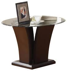 glass top end table with drawer espresso glass top end table with drawer espresso house plans ideas