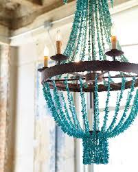 turquoise chandelier mini turquoise chandelier the turquoise chandelier concept