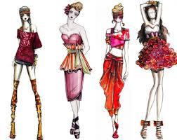 how to draw fashion sketches lara feodorovna