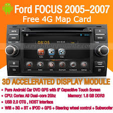 radio for ford focus android ford focus dvd player gps navigation radio wifi 3g 2005 2007