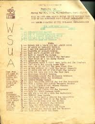 wsua audio and documents wcdb org