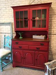 Emperor U0027s Silk And Graphite Hutch Done With Chalk Paint