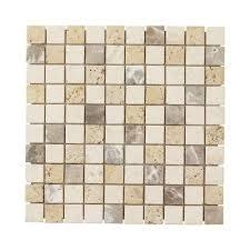 jeffrey court light travertine 12 in x 12 in x 8 mm mosaic floor