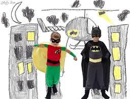 Kids Batman Halloween Costume Diy Batman Costume Melly Sews