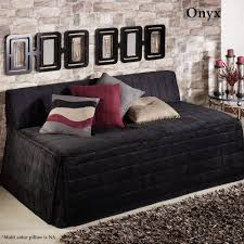 camden charcoal quilted hollywood daybed cover daybed covers and