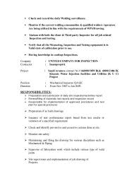 Qa Qc Inspector Resume Sample 100 Ndt Resume Certified Resume Writer Certification Free
