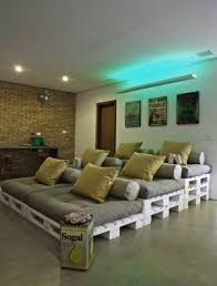 game room seating foter