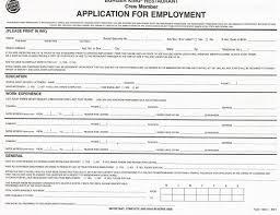 simple printable job application template basic printable job applications business class simple and sle