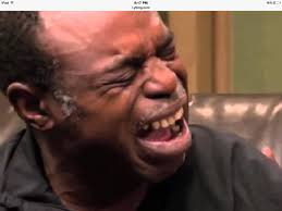 Crying Face Meme - butthurt old black guy crying blank template imgflip