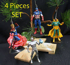 marvel ornaments set ebay