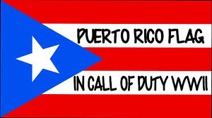 Flag Puerto Rico Puerto Rico Flag Emblem In Call Of Duty Wwii Youtube