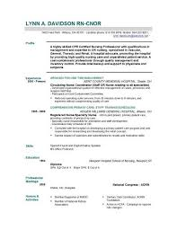 Summary For Resume Examples Student by Download Resume Samples For Nursing Students