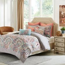 Paisley Comforter Sets Full Shop Hampton Hill Persian Paisley Bed Sets The Home Decorating