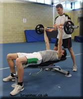 How To Calculate Bench Press Weight Weight Training Bench Press