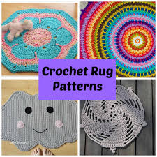 crochet rug patterns for a handmade home