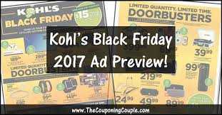 kohls black friday ad 2017 browse all 64 pages of the ad