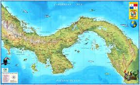 Panama City Map Panama Wall Map Zoom