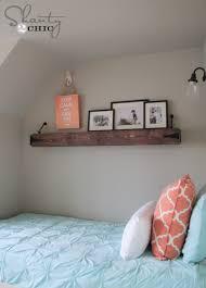 diy frame shelves shanty 2 chic